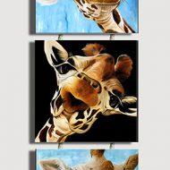 Trio's Giraffe